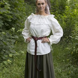Epic Armoury Blouse Pirate Reid, blanche