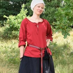 Blus Anne, röd