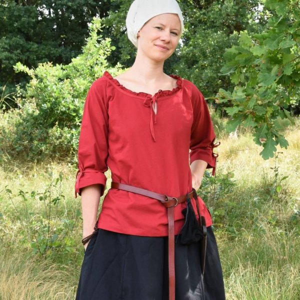 Blouse Anne, red