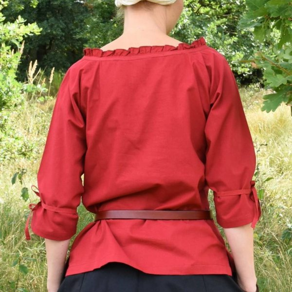 Bluzka Anne, czerwony