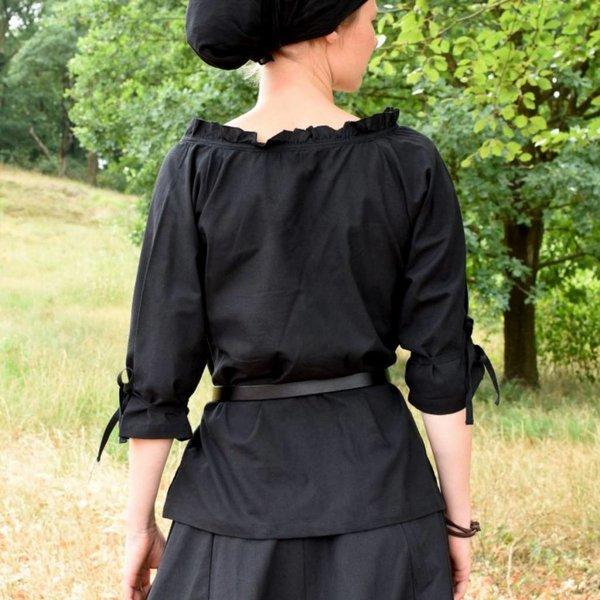 Blouse Anne, zwart