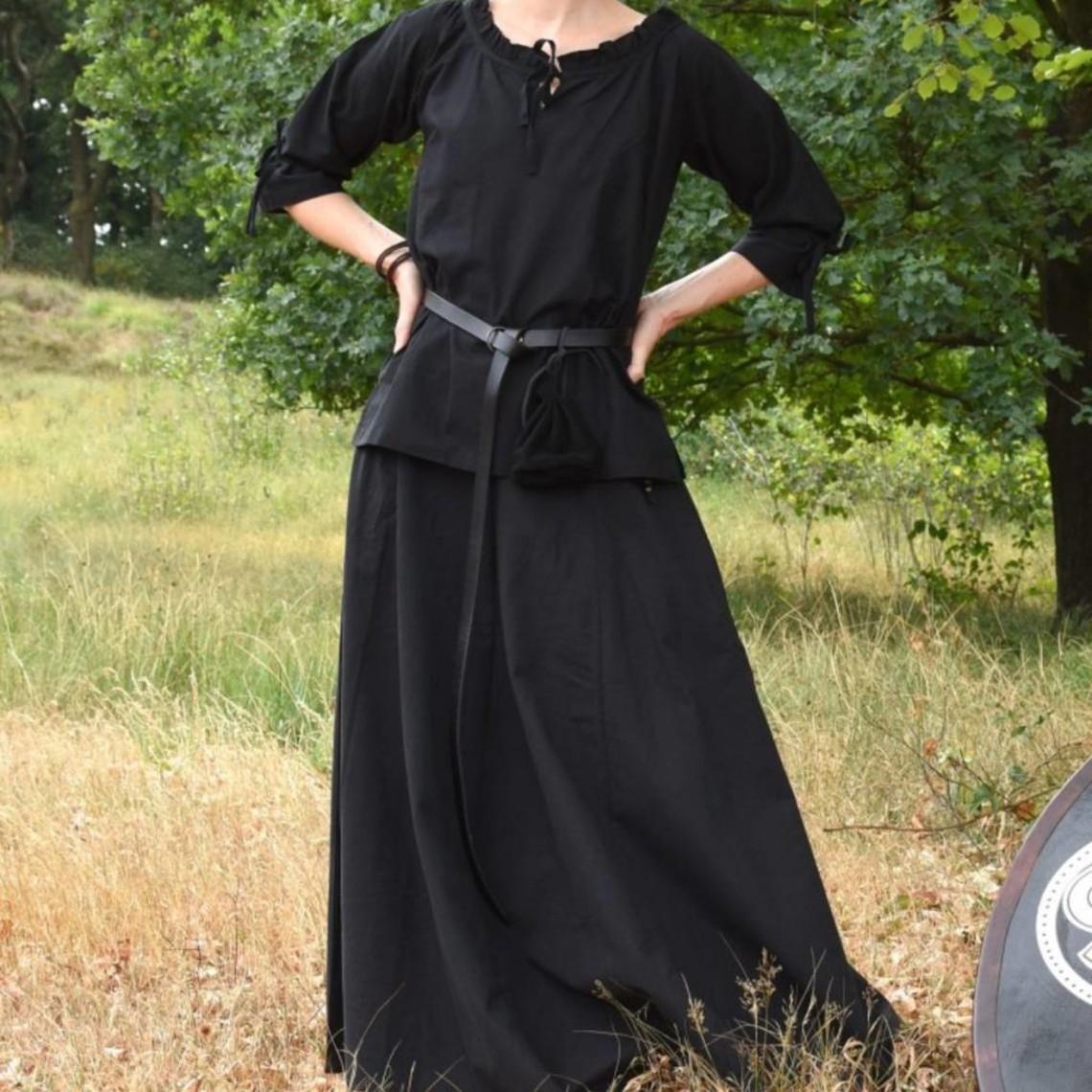 Anne bluzka, czarna