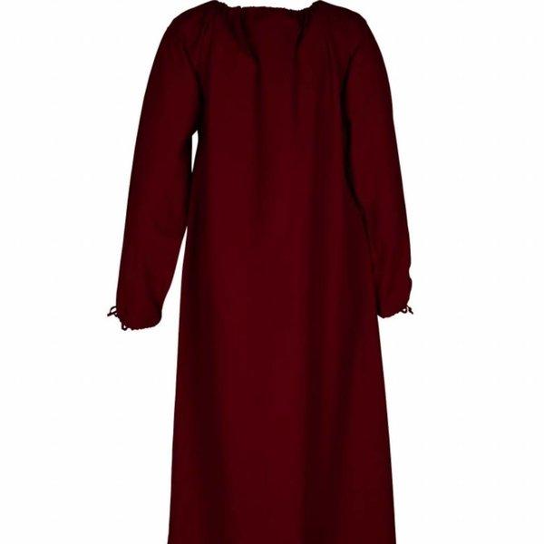 Medieval shift Matilda, wine red