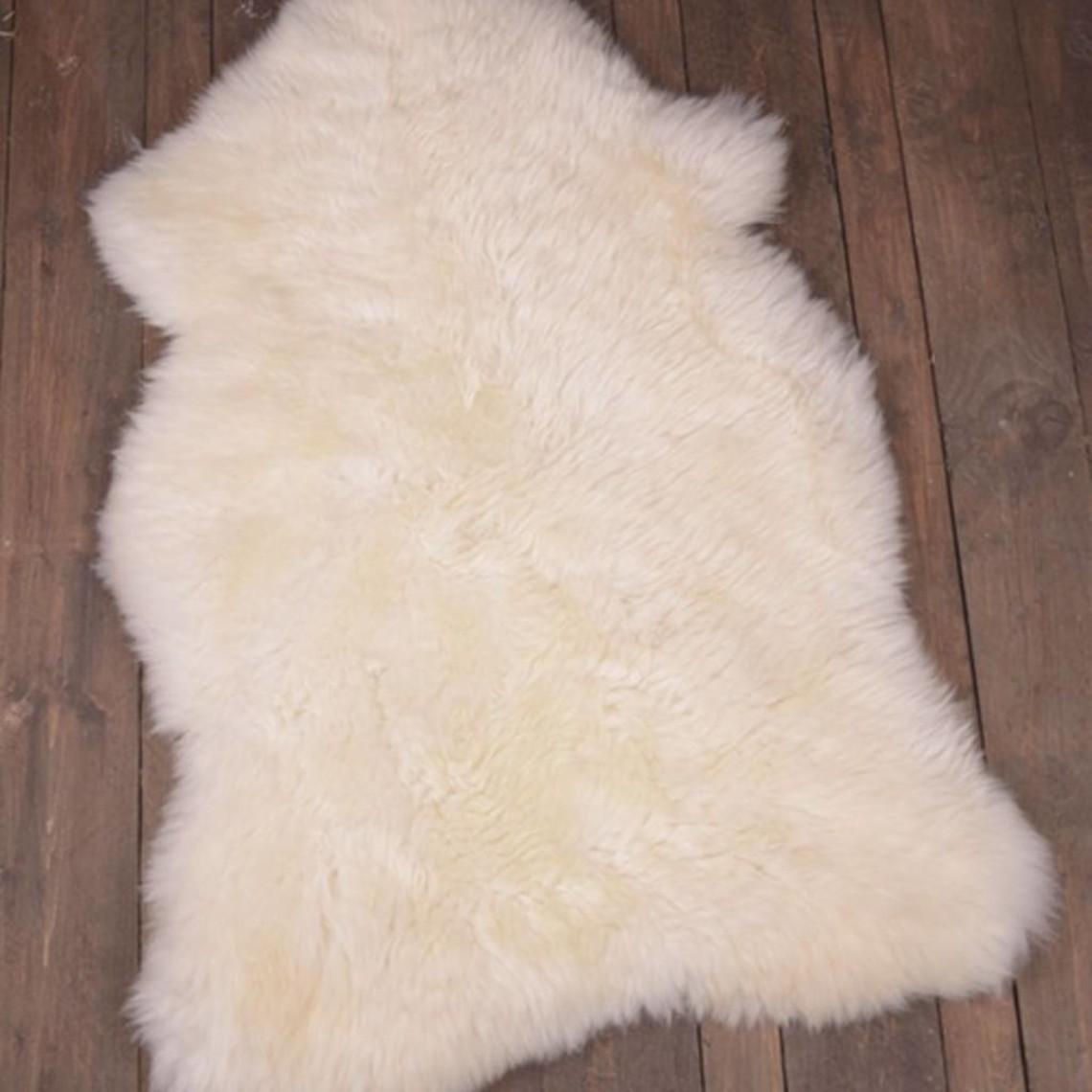 Angielska skóra owcza, kość słoniowa
