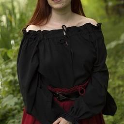 Pirate blouse Reid, black