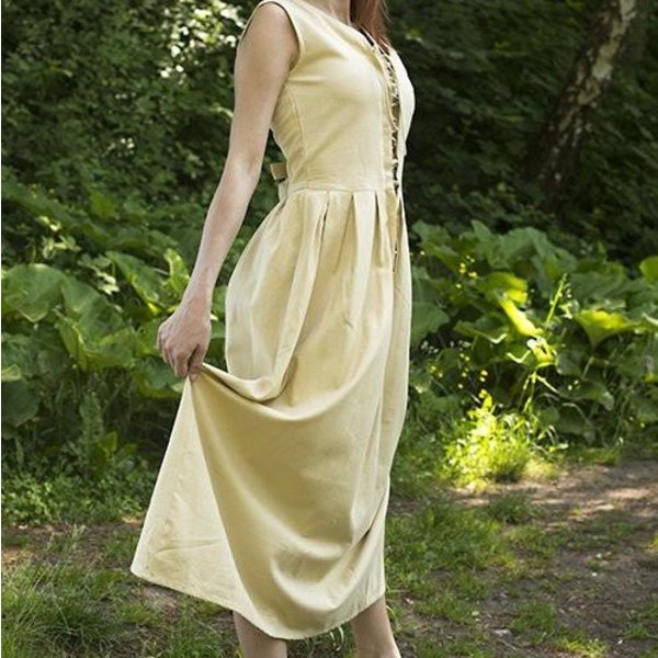 Epic Armoury Medieval dress Elaine, beige