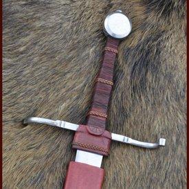 Deepeeka Epée à une main et demi, Musée de Cluny, prête au combat