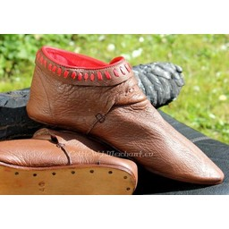Decorated ankle boots