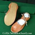 Deepeeka Zapatos con dobla con cordones (1100-1500)