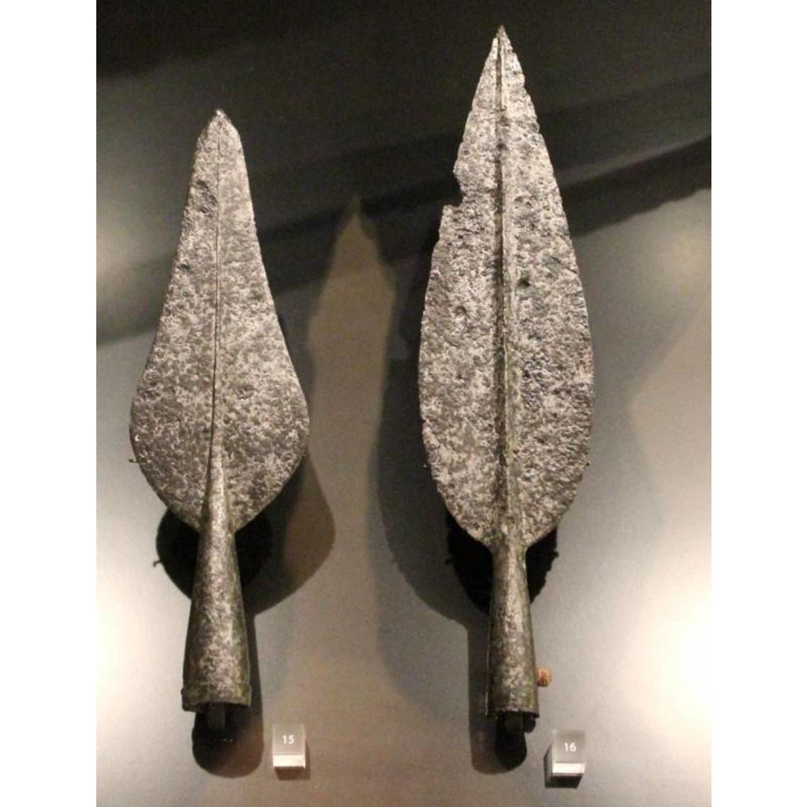 Punta de lanza Celta en forma de hoja