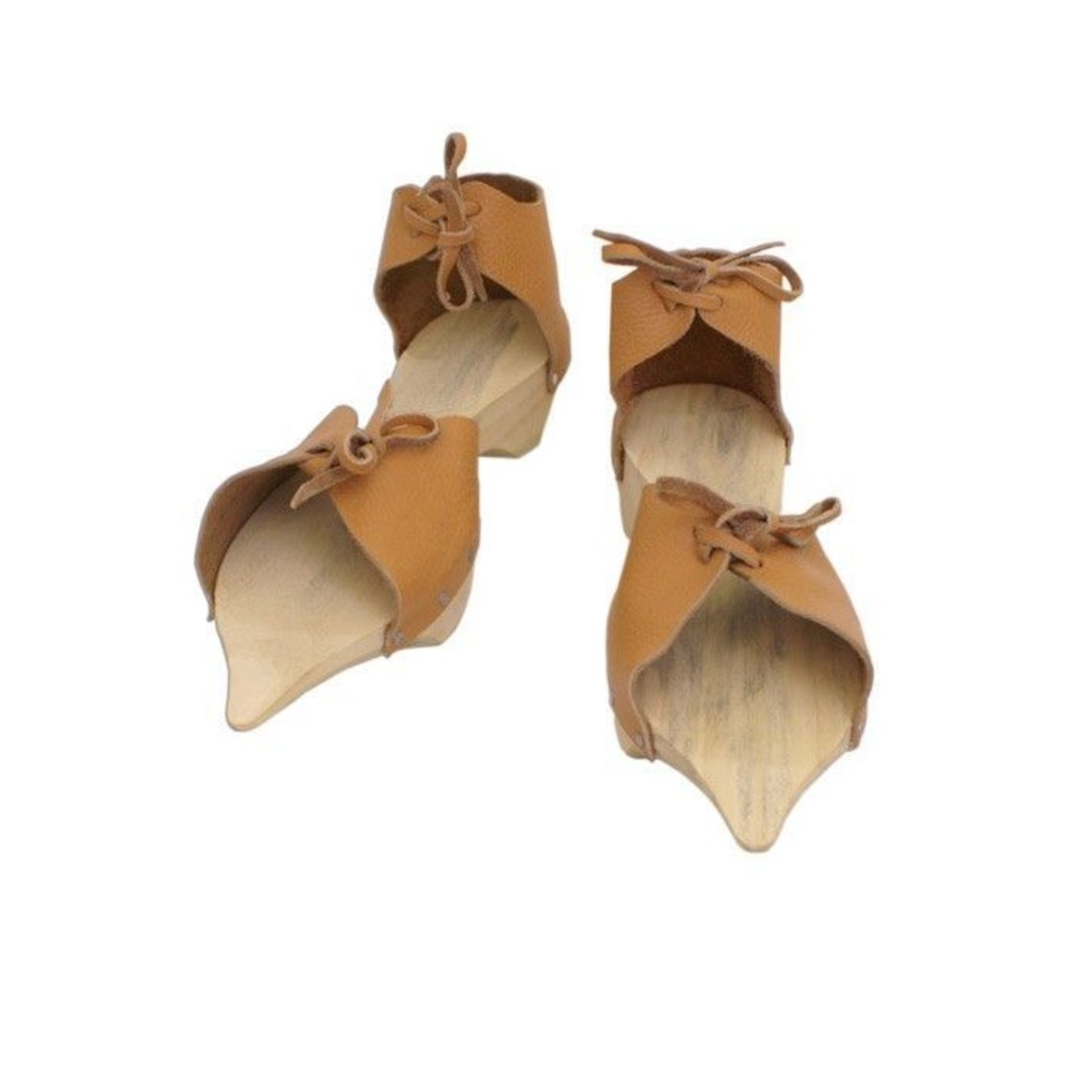 Zuecos de madera