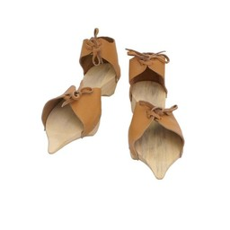 Wooden pattens