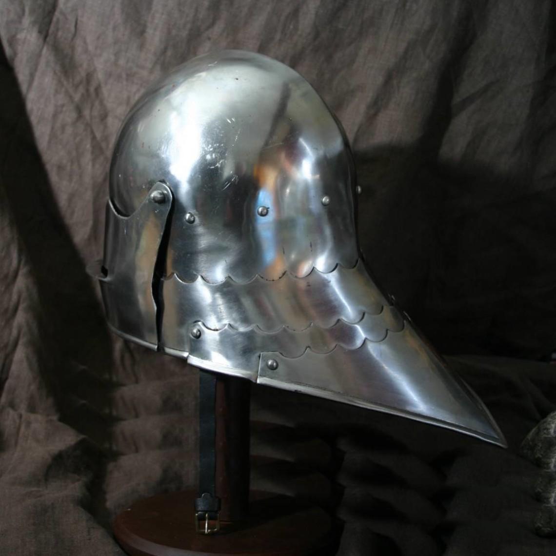 Ulfberth Celada con visera 1480