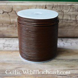 100 metres of leather lace