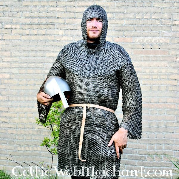 Ulfberth Long-sleeved hauberk , 8 mm