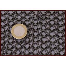 Langärmelig Kettenhemd, 8 mm
