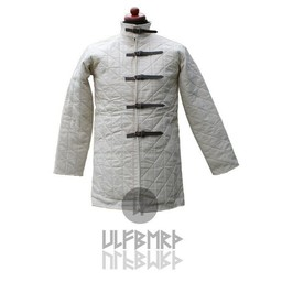 Gambeson with straps