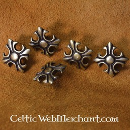Medieval lily (set of 5 pieces)