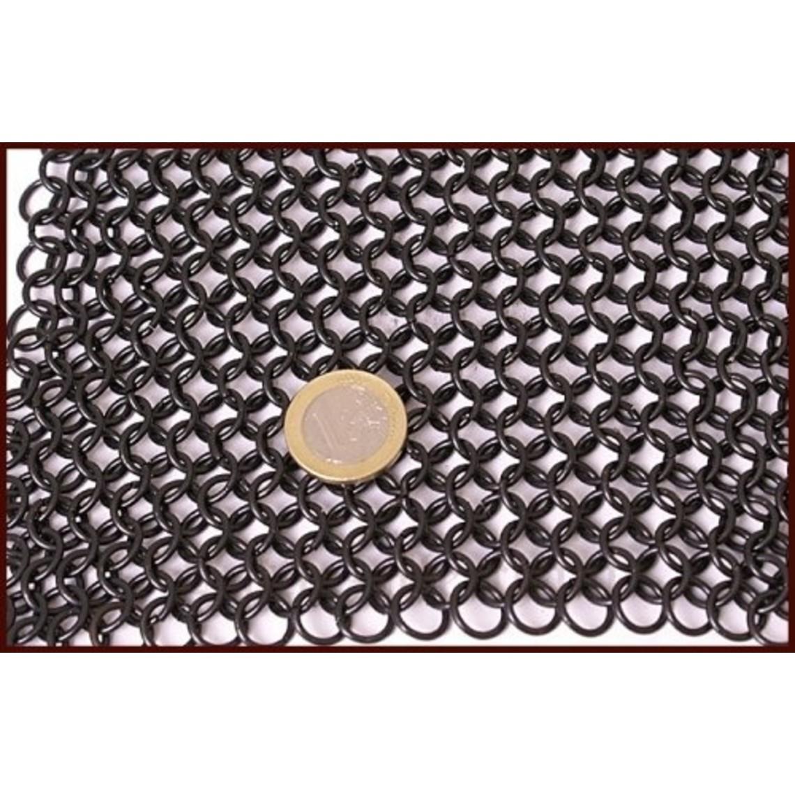 Lorigón de mangas largas, oscuro, 8 mm