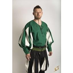 t-shirt Landsknecht, blanc / vert