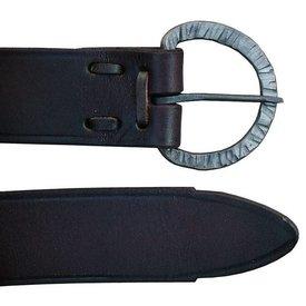 Cinturón con hebilla forjada a mano