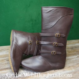 Boots with straps