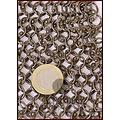 Ulfberth Langærmet brynjefrakke, Runde ringe - Runde nitter, 8 mm