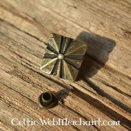 accesorios de cinturón medievales conjunto de 5 piezas (1500-1600)