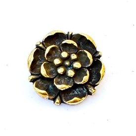 Tudor rose bältesbeslag (uppsättning av 5 st)