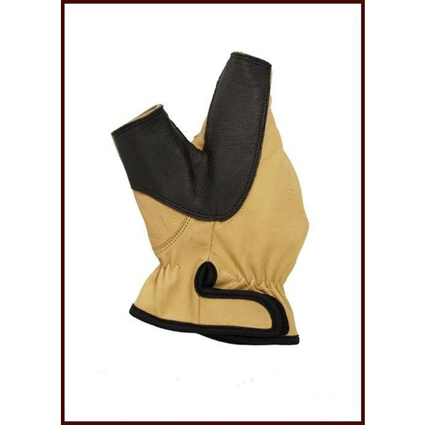 Left-handed archer glove