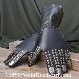 Handskar med plattor