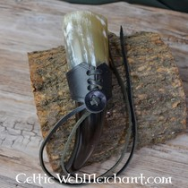 Porte épée à double boucle de ceinture, noir