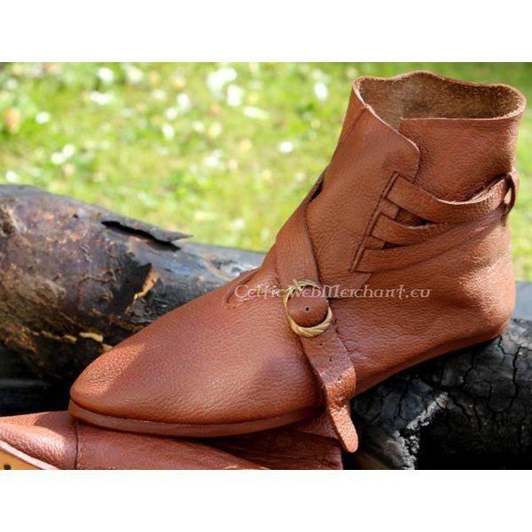 Marshal Historical Scandinavian ankle boots (1300-1400)