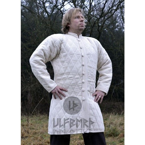 Ulfberth Long gambeson with buttons