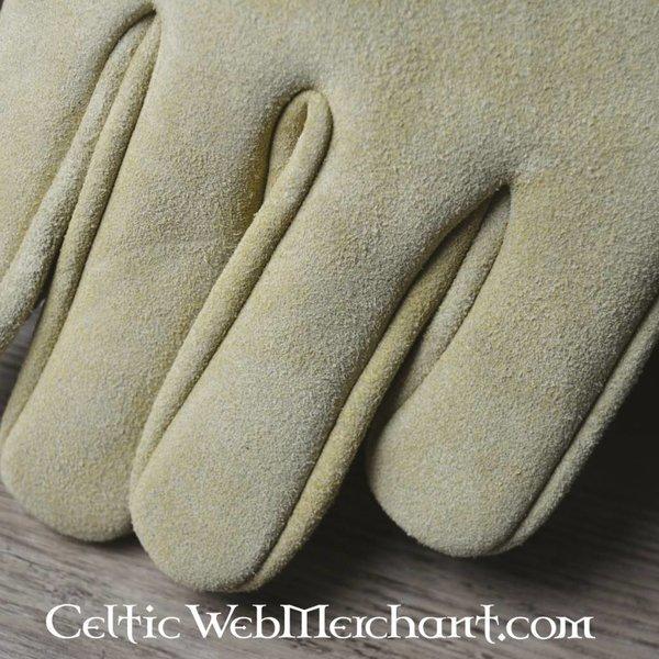 wyściełane rękawice