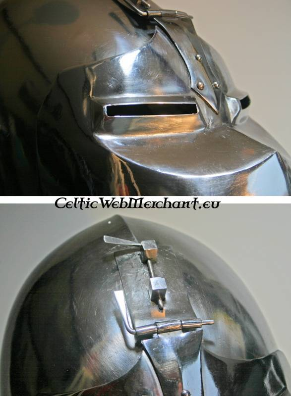 Bascinet with visor
