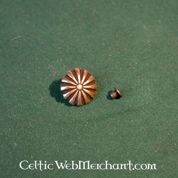 Medieval rosette belt fitting (set of 5 pieces)