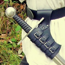Windlass épée bâtarde médiévale italienne
