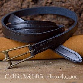 Marshal Historical Cinturón con hebilla grande (1300-1500)