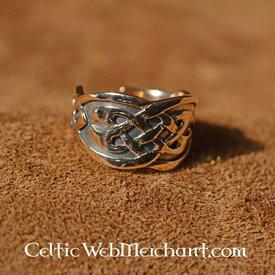Anello celtico in bronzo