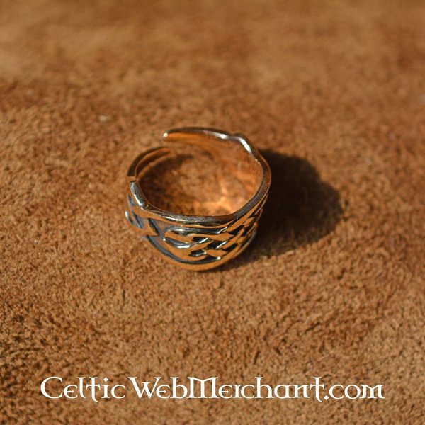 Celtic ring, brons