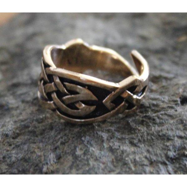 Celtic pierścień, brąz