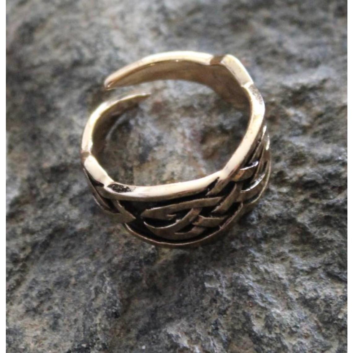 Anillo Celta, bronce