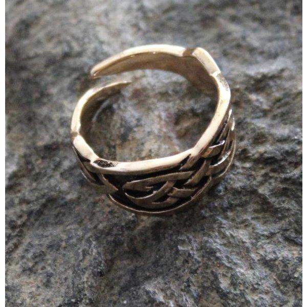Keltische ring, brons