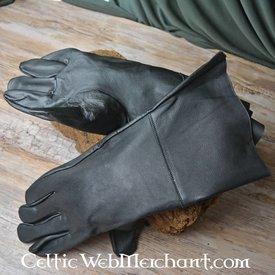 Goat läderhandskar