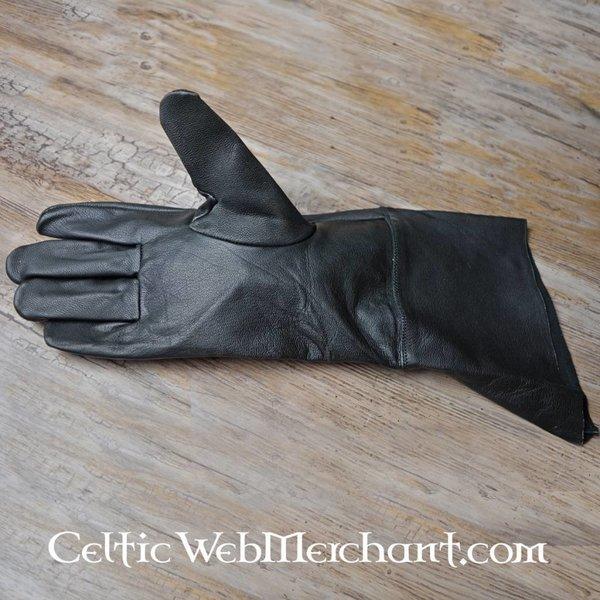 Geitenleren handschoenen