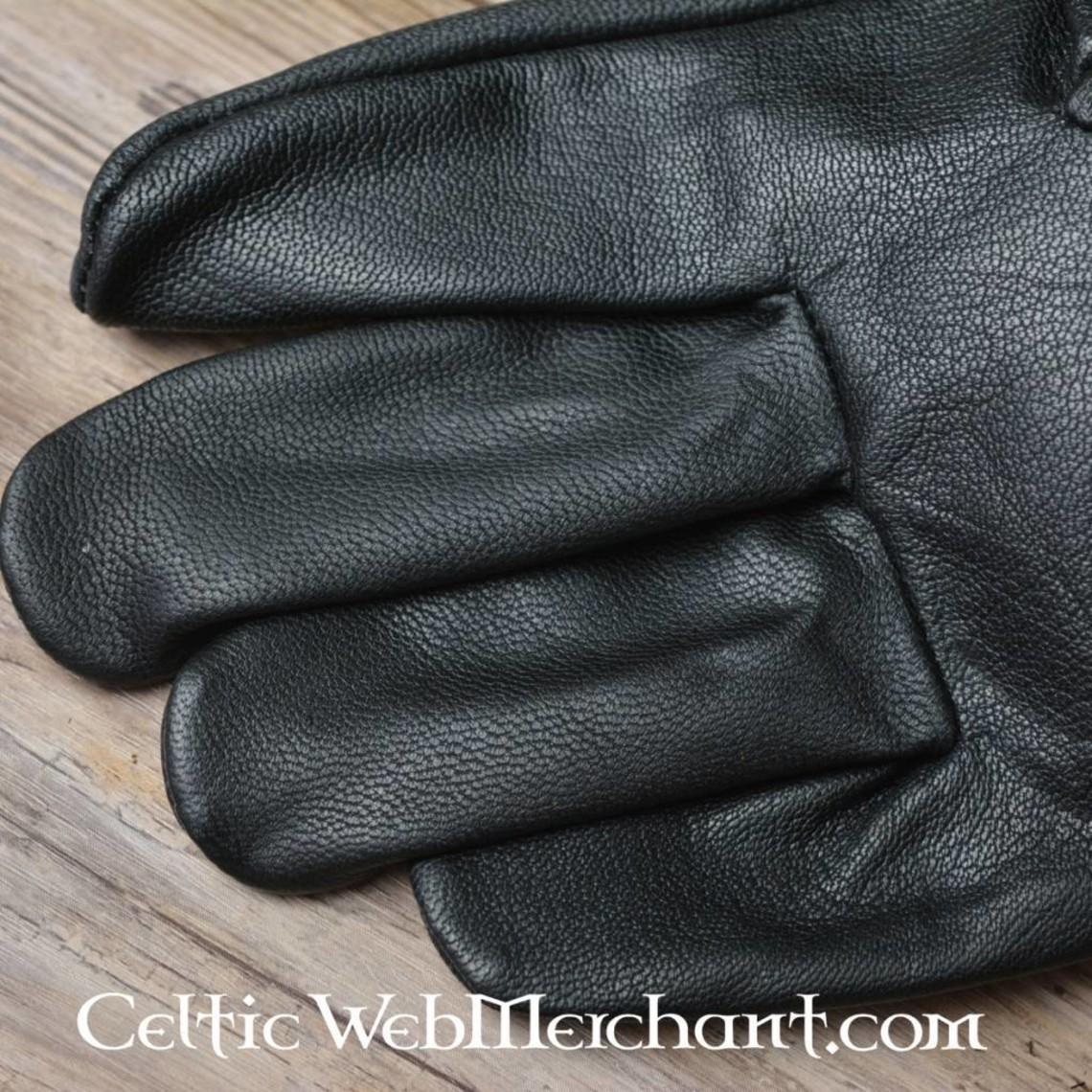 Ged læderhandsker