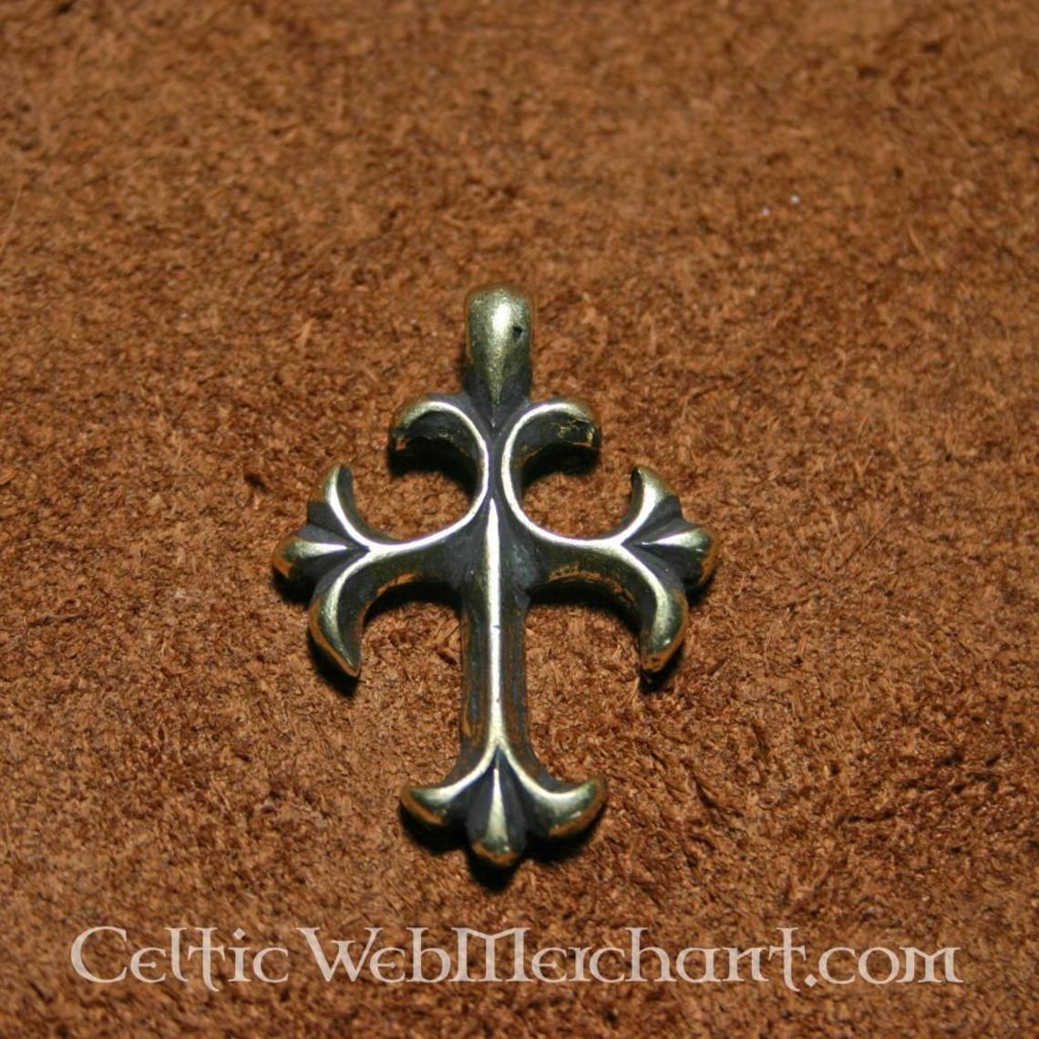 Pendentif croix, 15ème siècle
