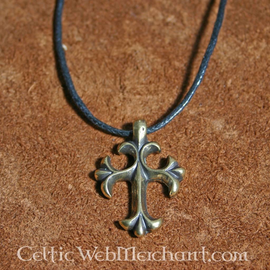 15th century cross pendant