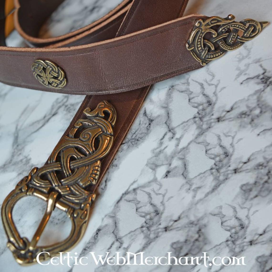 Ringerike lujo Vikingo Cinturón